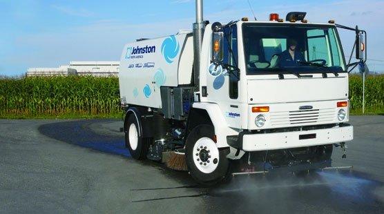 Johnston RT655, cost effective, efficient road sweeping - Saunders Equipment