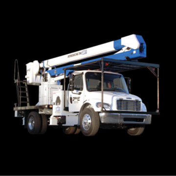 Duralift DAT-3 - Aerial Heavy Duty Telescopic Lift - Saunders Equipment