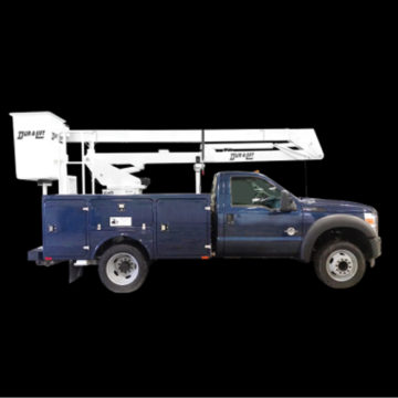 Duralift DO 32/36 - Aerial Telescopic Articulating Trucks - Saunders Equipment