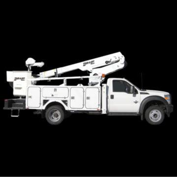 Duralift DPM2-32 - Aerial Telescopic Articulating Truck - Saunders Equipment