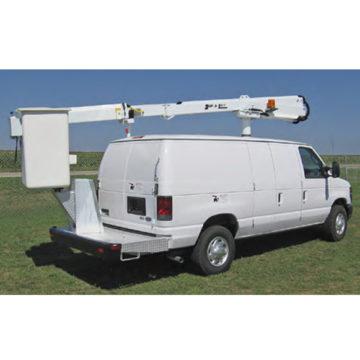The Duralift VFN 32/33 Telescopic Van Aerial Lifts - Saunders Equipment