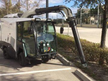 Madvac Vacuum Litter Collector - Saunders Equipment